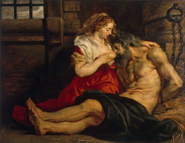 ルーベンスの『ローマの慈愛』を「キモい」という現代の感覚で批判するべきではない。
